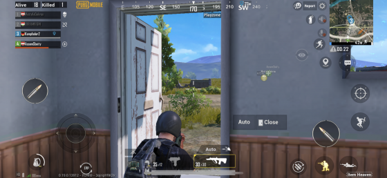PUBG gameplay mobile in Arcade Mode