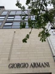 Armani auf der Kö