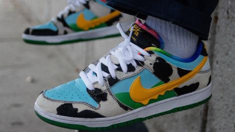 Ben & Jerrys Nike Sneakers