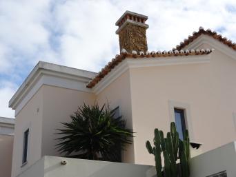 Mediterrane Architektur Algarve