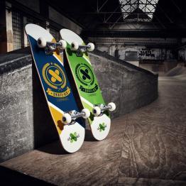 Neue Skateboard von Skate Aid!