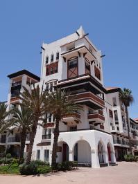 Moderne Marina Architektur