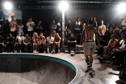 Pretty Poison Bali Skatehalle!