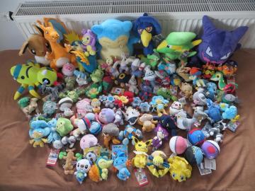 Pokemon Sammlung meiner Schwester