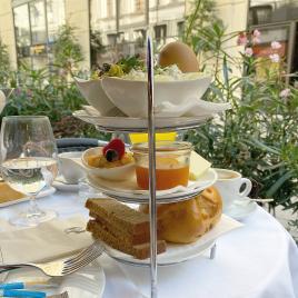 Wien - Frühstück auf einem Kamel